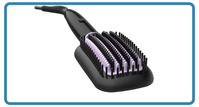 Philips BHH880/10 Heated Straightening Brush