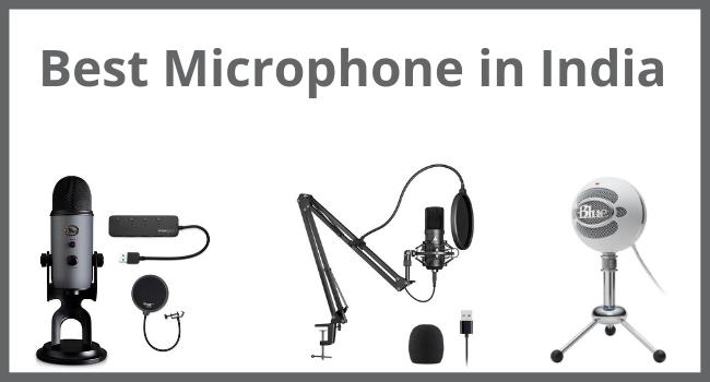 Best Microphone in India