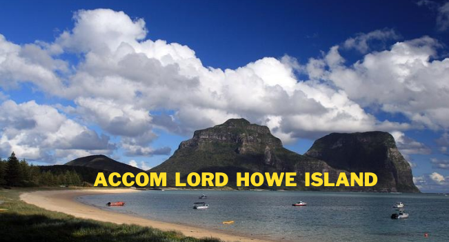 Accom Lord Howe Island