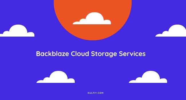 Backblaze Cloud Storage Services
