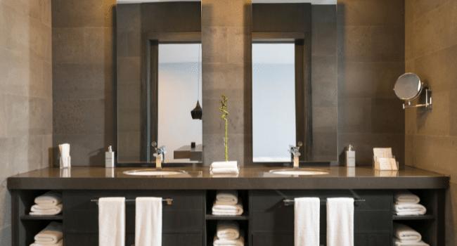 Bathroom Mirror with a Led Light