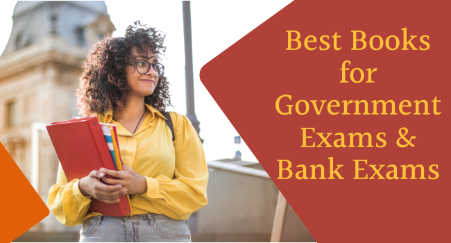 Best Books for Government Exams & Bank Exams