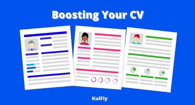 Boosting Your CV