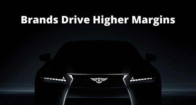 Brands Drive Higher Margins
