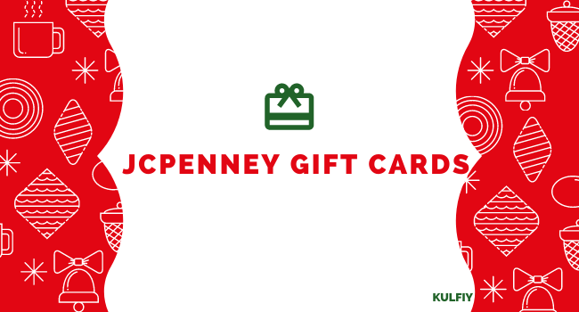 Buy Discounted JCPenney Gift Cards