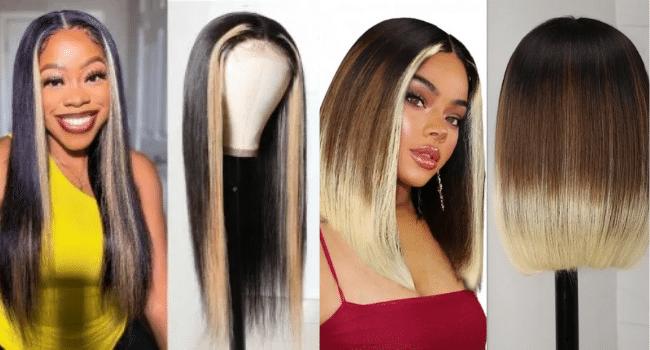 Buy Highlight Wigs, Bangs