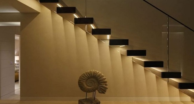Cool Stairway Lighting Ideas