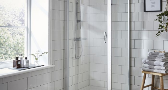 Glass Shower Enclosure for Bathroom