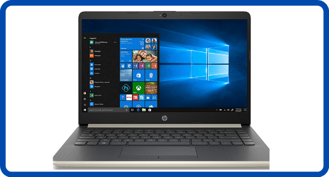 "HP 2019 14"" Laptop - Intel Core i3 - 8GB Memory"