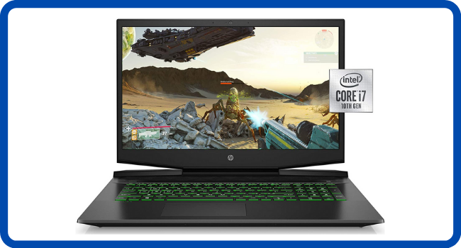 HP Pavilion Gaming Laptop 17-inch, Intel Core i7