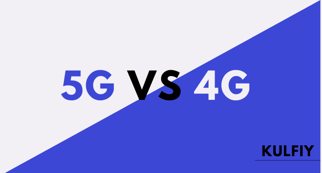 How 5G is different from 4G?