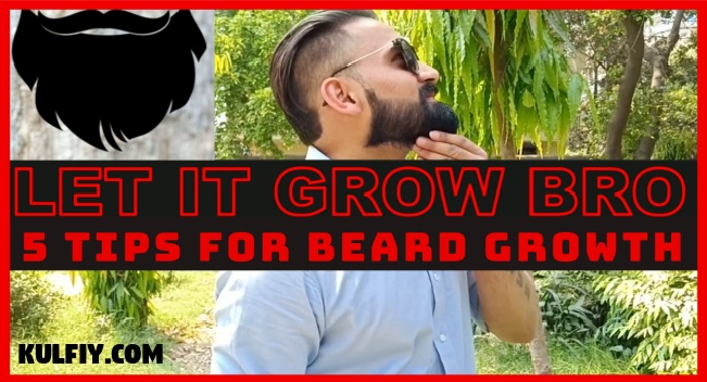 How to grow a beard Hindi