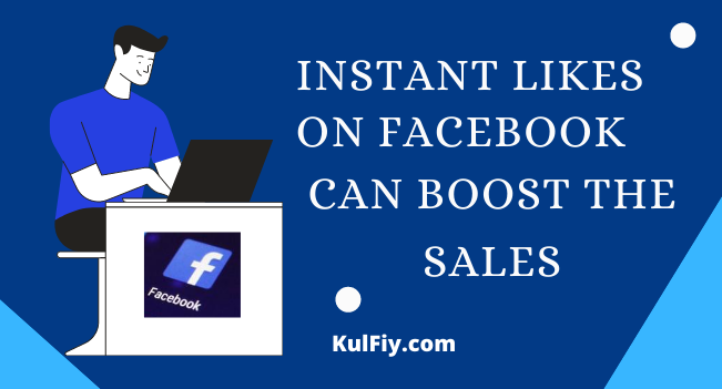 Instant Likes on Facebook