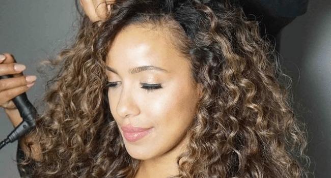 Kinky and Curly Hair Clip