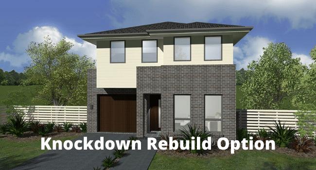 Knockdown Rebuild Option