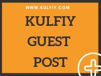 KulFiy Guest Post