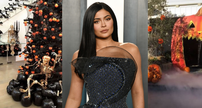 Kylie Jenner's Halloween Home Decor