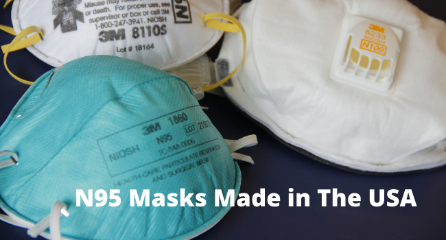 N95 Masks made in the USA