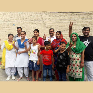 Neeraj Chopra Family Photo