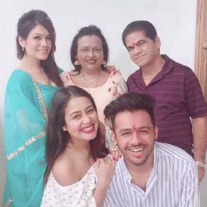 Neha Kakkar Family