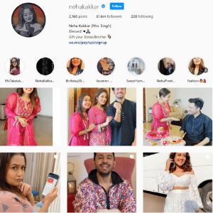 Neha Kakkar Instagram