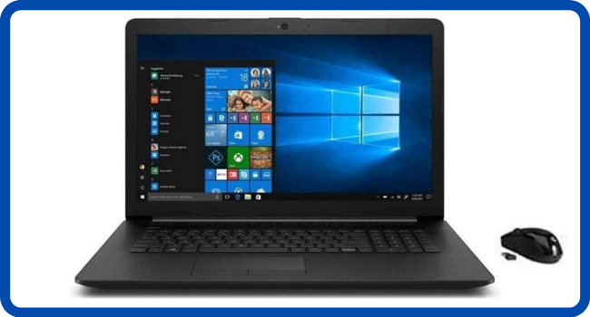 "New_HP 17.3"" FHD IPS Laptop, AMD Ryzen 5 4500U"