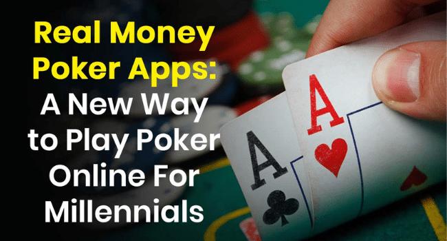 Real Money Poker Apps