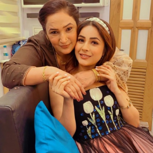 Shahnaaz Gill and Mother