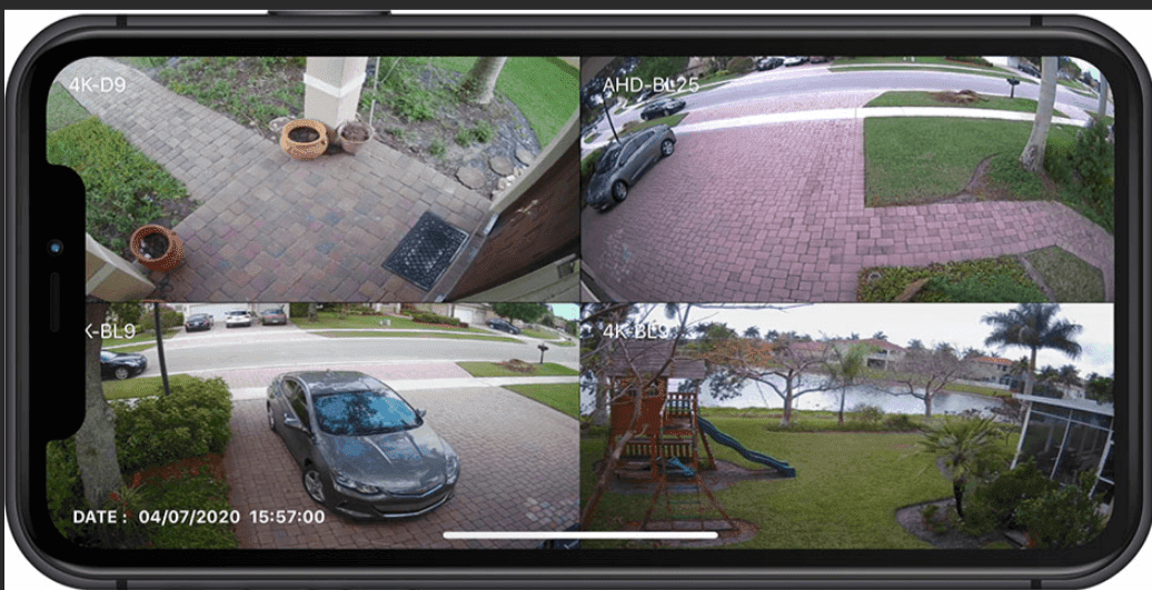 Streaming Security Cameras