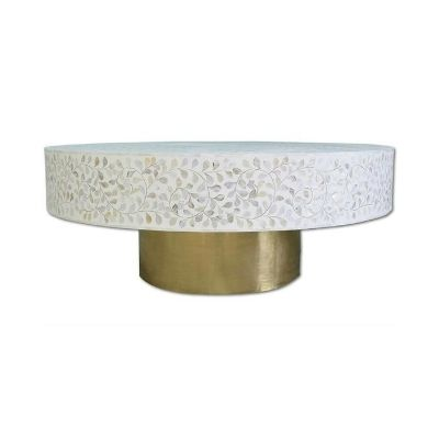 Mother-of-pearl-coffee-table-round