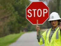 Work Zone Flagger Training