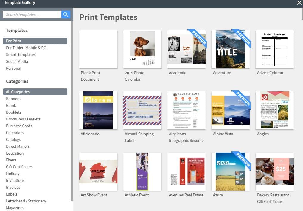 free online flyers maker