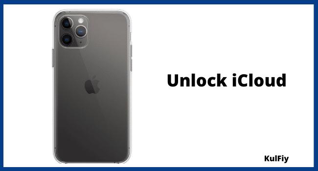 unlock iCloud activation